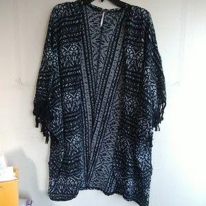 Free people tribal print kimono